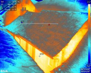 Recherche des déperditions de chaleur