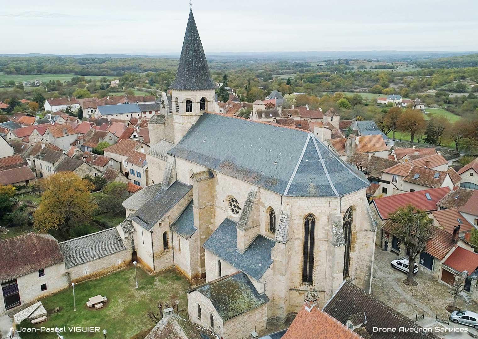 Eglise de Villeneuve d'Aveyron